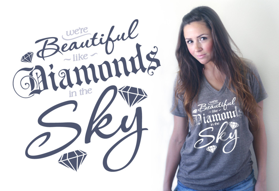 diamonds-in-the-sky-t-shirt